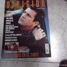 Cinéma: DIRIGIDO POR... Nº 262: JEAN-JACQUES ANNAUD. PAUL SCHRADER. ANG LEE. DAVID FINCHER. TORMENTA DE HIEL. Lote 219276975