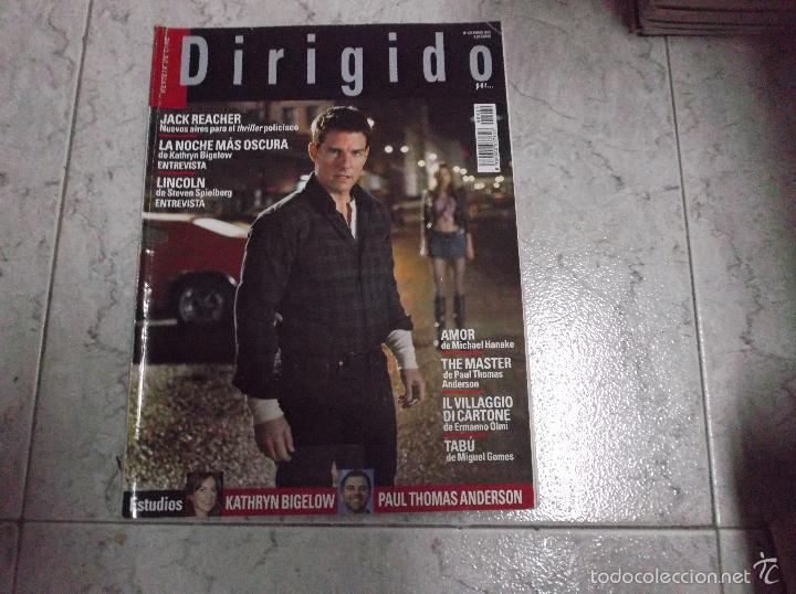 DIRIGIDO POR... Nº 429: KATHRYN BIGELOW. PAUL THOMAS ANDERSON. IL MILAGRO DI CARTONE. TABU. LINCOLN. (Cine - Revistas - Dirigido por)