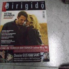 Cinéma: DIRIGIDO POR... Nº 432: CINE DE TERROR BRITANICO AÑOS 60-70 (2). GUS VAN SANT. TO THE WONDER. POSESI. Lote 221268415