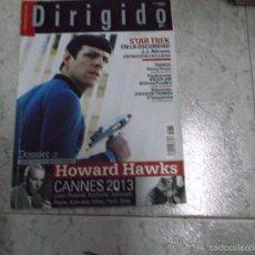 Cine: DIRIGIDO POR... Nº 434. STAR TREK. TRANCE. HOWARD HAWKS (2). JUEGO DE TRONOS. CANNES 2013. Lote 214454450