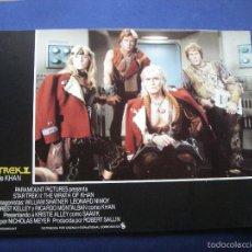 Cine: FOTOGRAMAS DE CINE STAR TREK - LA IRA DE KHAN ORIGINALES 12 PDELUXE. Lote 60676003
