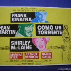 Cine: FOTOGRAMAS DE CINE COMO UN TORRENTE ORIGINALES 1972 PDELUXE. Lote 60676803