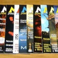 Cine: LOTE 17 REVISTAS DE CINE MAGAZIN POSTAL COMPRENDIDAS ENTRE MAYO DE 2000 Y OCTUBRE DE 2001. Lote 60767791
