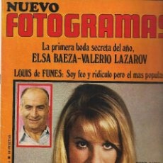 Cine: REVISTA. FOTOGRAMAS. Nº 1112. 6 FEBRERO 1970 (Z26). Lote 60904399