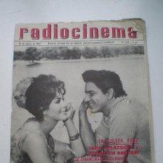 Cine: RADIOCINEMA Nº 543, 16 AGOSTO1962 // ANA KARINA TONY LEBLANC MARILYN AUDREY HEPBURN CONCHA VELASCO. Lote 60911123