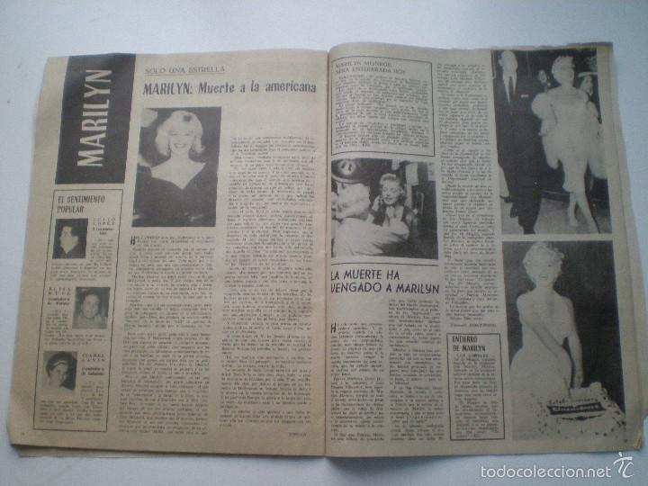 Cine: RADIOCINEMA Nº 543, 16 AGOSTO1962 // ANA KARINA TONY LEBLANC MARILYN AUDREY HEPBURN CONCHA VELASCO - Foto 2 - 60911123