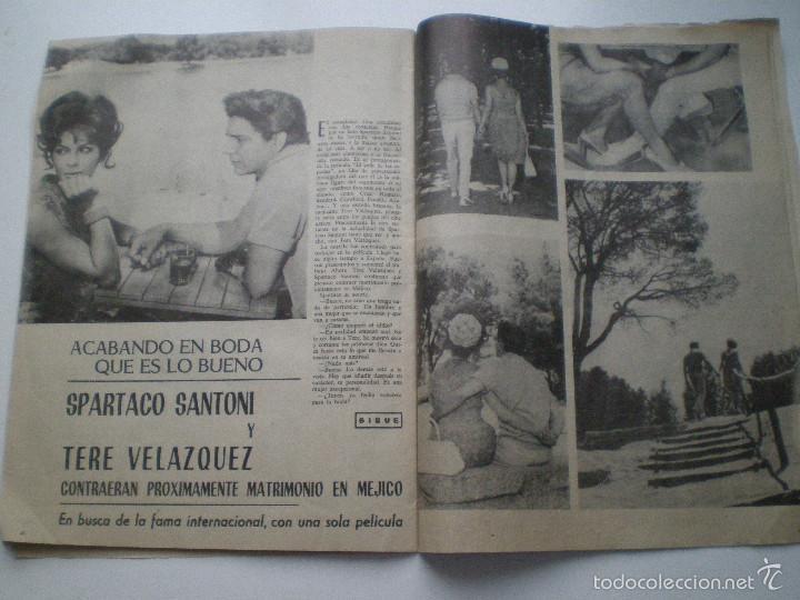 Cine: RADIOCINEMA Nº 543, 16 AGOSTO1962 // ANA KARINA TONY LEBLANC MARILYN AUDREY HEPBURN CONCHA VELASCO - Foto 3 - 60911123