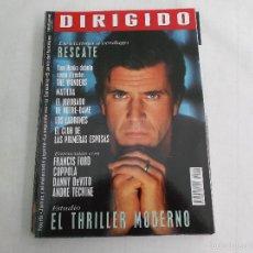 Cinéma: DIRIGIDO POR... Nº 252: RESCATE. EL THRILLER MODERNO. MATILDA. EL JOROBADO DE NOTRE DAME. THE WONDER. Lote 219272597