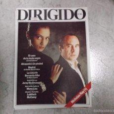 Cine: DIRIGIDO POR... Nº 146: NICHOLAS RAY. LA CASA DE BERNARDA ALBA. MONA LISA. LUBITSCH. MCCAREY. JERZY . Lote 152266405