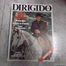 Cine: DIRIGIDO POR... Nº 127: CINE DE AVENTURAS. WOODY ALLEN. PETER BOGDANOVICH. LA NOCHE DE LA IGUANA.. Lote 205353646