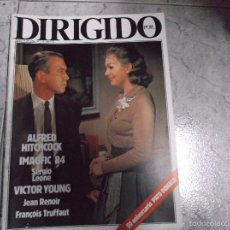 Cine: DIRIGIDO POR... Nº 115: ALFRED HITCHCOCK. VICTOR YOUNG. JEAN RENOIR. 50 ANIVERSARIO PATO DONALD.. Lote 171006558