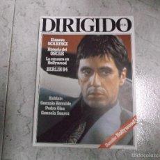 Cinema: DIRIGIDO POR... Nº 113: EL NUEVO SCARFACE. HISTORIA DEL OSCAR. LA CENSURA DE HOLLYWOOD. GONZALO HERR. Lote 266160898