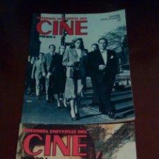 Cine: 2 REVISTAS, HISTORIA UNIVERSAL DEL CINE N, 1-2 AÑO 1982. Lote 61166230
