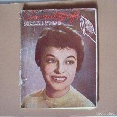 Cine: REVISTA CINE- AUTOGRAFO Nº 2 SINTESIS DE LA ACTUALIDAD CINEMATOGRAFICA MUNDIAL 1954. Lote 61229127