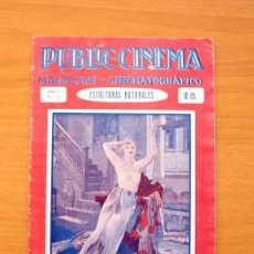 Cine: PUBLIC-CINEMA Nº 1 - REVISTA DE CINE DE FINALES DE LOS AÑOS 20. Lote 61384531