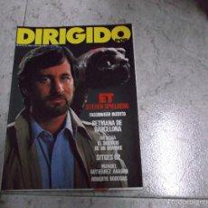 Cinema: DIRIGIDO POR... Nº 98: ET. SETMANA DE BARCELONA. EL SILENCIO DE UN HOMBRE. FASSBINDER INEDITO. SITGE. Lote 166874676