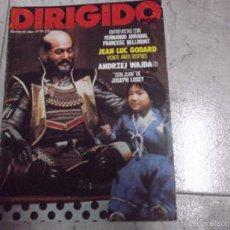Cine: DIRIGIDO POR... Nº 79: FERNANDO ARRABAL. FRANCESC BELLMUNT. JEAN-LUC GODARD. ANDRZEJ WAJDA. DON JUAN. Lote 151764717