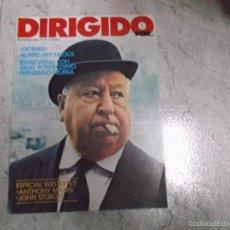 Cinema: DIRIGIDO POR... Nº 74: ESPECIAL WESTERN. DOSSIER ALFRED HITCHCOCK. GILLO PONTECORVO. FENANDO TRUEBA.. Lote 192159987