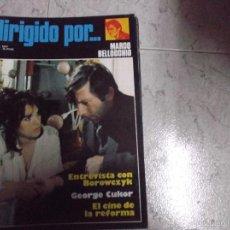Cine: DIRIGIDO POR... Nº 43: MARCO BELLOCCHIO. BOROWCZYK. GEORGE CUKOR. EL CINE DE LA REFORMA. Lote 71975542