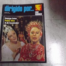 Cine: DIRIGIDO POR... Nº 42: GEORGE CUKOR. ERIC ROHMER. PEDRO OLEA. R.W. FASSBINDER. Lote 61487995
