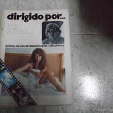 Cine: DIRIGIDO POR... Nº 31: KEN RUSSELL. CINE PORNOGRAFICO. DREYER. LA FERIA DEL MUSICAL SAURA. Lote 112502608
