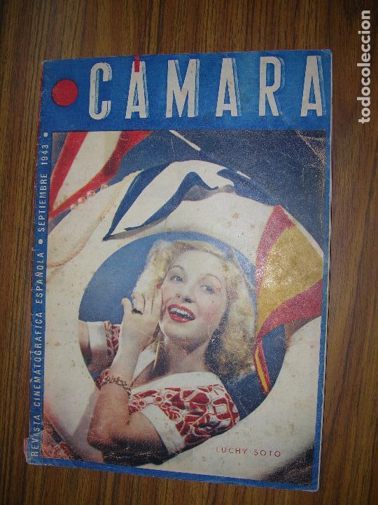 REVISTA CAMARA LUCHY SOTO AÑO 1943 (Cine - Revistas - Cámara)