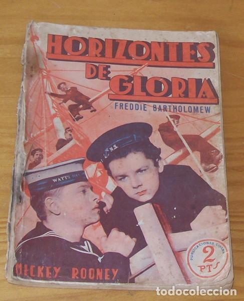 HORIZONTES DE GLORIA, MICKEY ROONEY. PUBLICACIONES CINEMA EDICIONES EXTRAORDINARIAS SERIE ESPLENDOR. (Cine - Revistas - Otros)