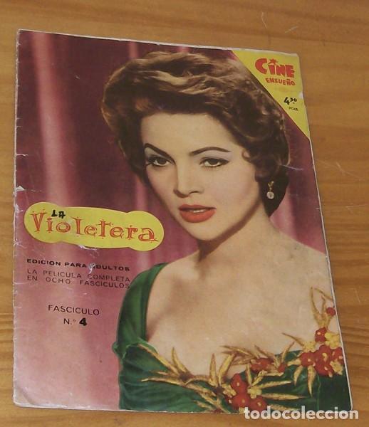 LA VIOLETERA FASCICULO 4. CINE ENSUEÑO FHER 1958 SARA MONTIEL FOTONOVELA (Cine - Revistas - Otros)
