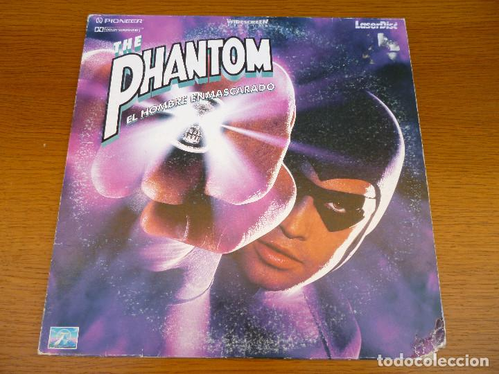 Cine: LASER DISC THE PHANTOM. EL HOMBRE ENMASCARADO con Billy Zane y Kristy Swanson.Laserdisc.Comic acción - Foto 1 - 61703612