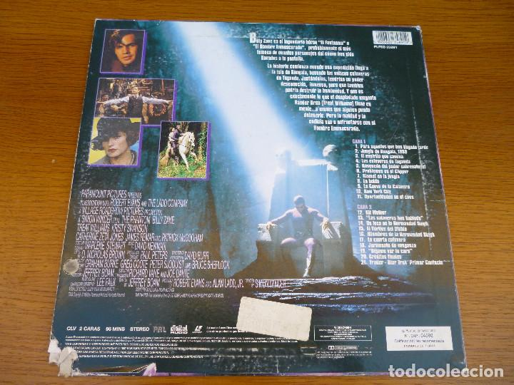 Cine: LASER DISC THE PHANTOM. EL HOMBRE ENMASCARADO con Billy Zane y Kristy Swanson.Laserdisc.Comic acción - Foto 2 - 61703612
