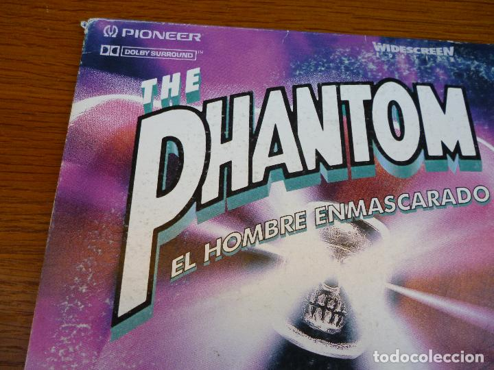 Cine: LASER DISC THE PHANTOM. EL HOMBRE ENMASCARADO con Billy Zane y Kristy Swanson.Laserdisc.Comic acción - Foto 6 - 61703612