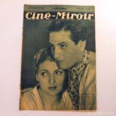 Cine: REVISTA FRANCESA CINE - MIROIR DE JUNIO 1937 (Nº 636). Lote 61728348
