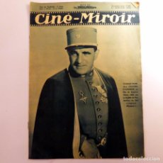 Cine: REVISTA FRANCESA CINE - MIROIR DE ENERO 1938 (Nº 668). Lote 61730628