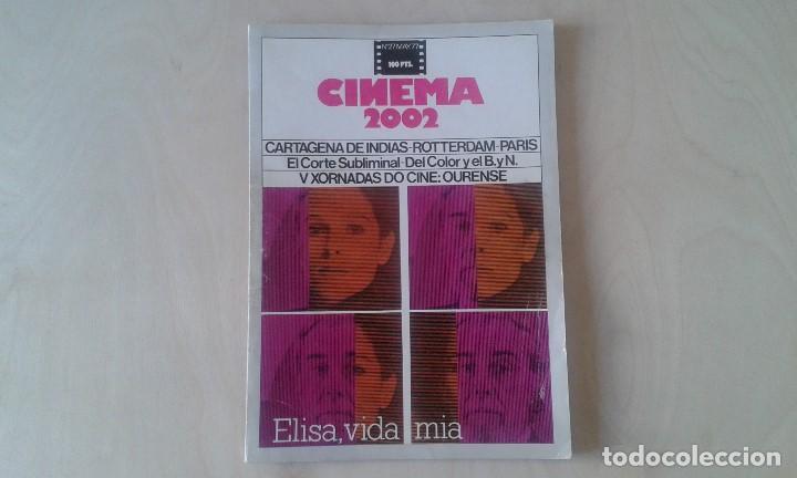 CINEMA 2002, Nº 27 - MAYO 1977 - CARTAGENA DE INDIAS, V XORNADAS DE CINE: OURENSE, CORTE SUBLIMINAL. (Cine - Revistas - Cinema)