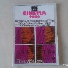 Cine: CINEMA 2002, Nº 27 - MAYO 1977 - CARTAGENA DE INDIAS, V XORNADAS DE CINE: OURENSE, CORTE SUBLIMINAL.. Lote 61749652