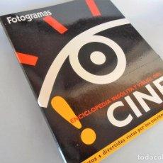 Cine: FOTOGRAMAS ENCICLOPEDIA DEL CINE. 8 FASCICULOS #PV-R. Lote 61774396