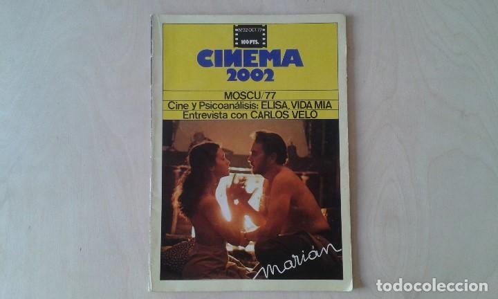 CINEMA 2002, Nº 32 - OCTUBRE 1977 - CINE Y PSICOANÁLISIS, CARLOS VELO, GIJÓN 77, MARIÁM... (Cine - Revistas - Cinema)