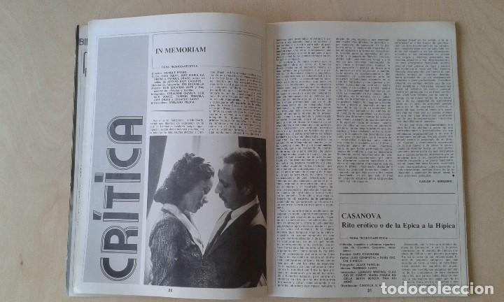 Cine: CINEMA 2002, nº 32 - Octubre 1977 - Cine y Psicoanálisis, Carlos Velo, Gijón 77, Mariám... - Foto 5 - 62364176