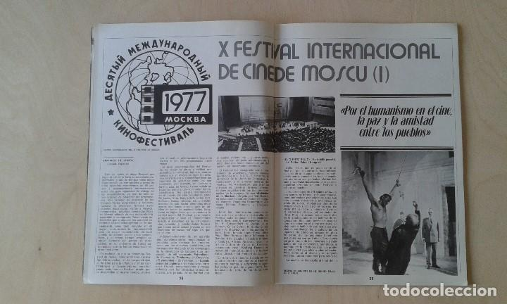 Cine: CINEMA 2002, nº 32 - Octubre 1977 - Cine y Psicoanálisis, Carlos Velo, Gijón 77, Mariám... - Foto 8 - 62364176