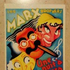 Cine: REPRODUCCION 10*15 - UNA NOCHE EN LA OPERA - LOS HERMANOS MARX. Lote 101111960