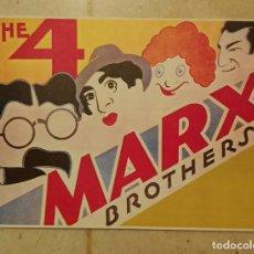 Cine: REPRODUCCION 10*15 - LOS HERMANOS MARX. Lote 62483296