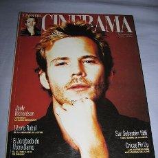 Cine: CINERAMA Nº52 (NOVIEMBRE 1996) PORTADA:STEPHEN DORFF. Lote 62901756