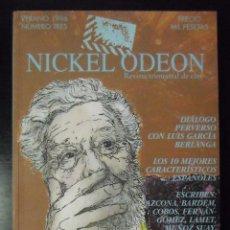 Cine: NICKEL ODEON NUMERO 3 DIALOGO PERVERSO CON LUIS GARCIA BERLANGA - VERANO 1996. Lote 63122556