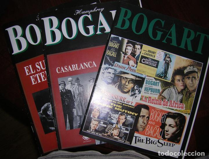 TRES FASCÍCULOS SUELTOS DE HUMPHREY BOGART (Cine - Revistas - Colección ídolos del cine)