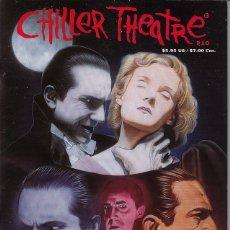 Cine: CHILLER THEATRE # 10 (CHILLER THEATHE,1999) - BELA LUGOSI - PORTADA FIRMADA A MANO JEFF PITTARELLI. Lote 63464552
