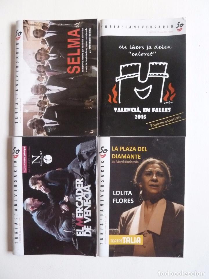 Cine: LOTE DE 246 NÚMEROS DE LA REVISTA CARTELERA TURIA ENTRE EL 2416 Y EL 2687. MAYO 2010 A AGOSTO 2015 - Foto 8 - 63589924