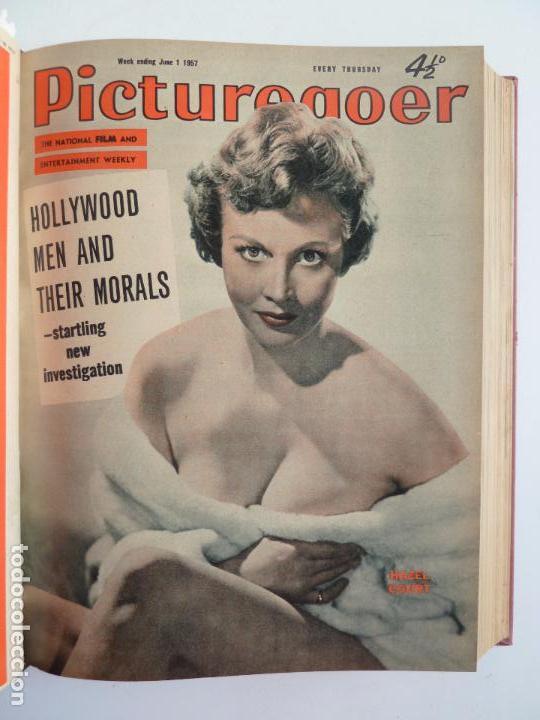 Cine: PICTUREGOER 1957. 35 REVISTAS EN UN TOMO. 18-05-1957 A 01-02-1958. EN INGLÉS. CINE. Muchas fotos - Foto 3 - 63804703
