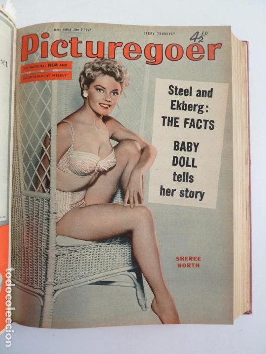 Cine: PICTUREGOER 1957. 35 REVISTAS EN UN TOMO. 18-05-1957 A 01-02-1958. EN INGLÉS. CINE. Muchas fotos - Foto 4 - 63804703