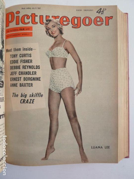 Cine: PICTUREGOER 1957. 35 REVISTAS EN UN TOMO. 18-05-1957 A 01-02-1958. EN INGLÉS. CINE. Muchas fotos - Foto 7 - 63804703