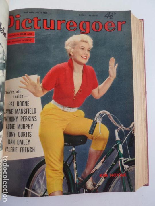Cine: PICTUREGOER 1957. 35 REVISTAS EN UN TOMO. 18-05-1957 A 01-02-1958. EN INGLÉS. CINE. Muchas fotos - Foto 8 - 63804703